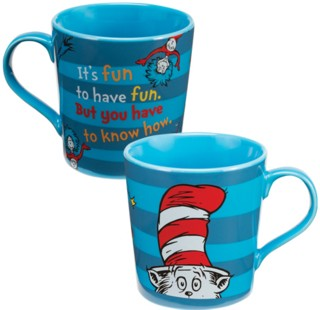 Cartoon Characters Collectibles - Doctor Seuss The Cat in the Hat Ceramic Mug