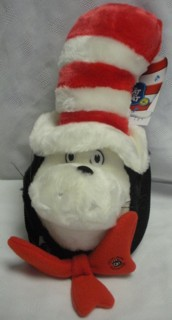 Cartoon Characters Collectibles - Doctor Seuss Cat in the Hat Plush backpack