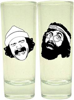 Movie Collectibles - Cheech & Chong - Up In Smoke Glass Shooter Set