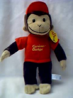 Television Character Collectibles - Curious George Plush stuffed animal