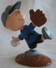 Peanuts Collectibles - Charlie Brown baseball figure