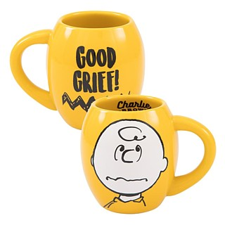 Snoopy and Peanuts Collectibles - Charlie Brown Good Grief Ceramic Mug