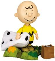 Peanuts Collectibles - Charlie Brown from It's The Great Pumpkin Charlie Brown Action Figure