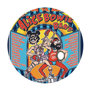 Movie Collectibles - Cheech & Chong - Alice Bowie Band Pinback Button