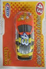 General Mills Cereal Collectibles - Honey Nut Cheerios Bee Die Cast Race Car