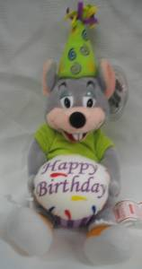 Advertising Collectibles - Chuck E Cheese Happy Birthday