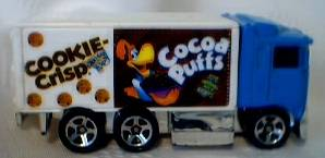 General Mills Cereal Collectibles - Cocoa Puffs Cookie Crisp Hot Wheels Truck