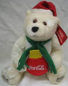 Coca-Cola Collectibles - Coke Bear Large Plush with Scarf