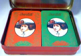 Coca-Cola Collectibles - Coke Playing Cards and Tin