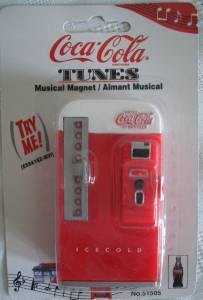 Coca-Cola Collectibles - Coke Vending Machine Musical Magnet