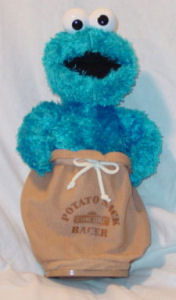 Sesame Street - Cookie Monster Potato Sack Racer