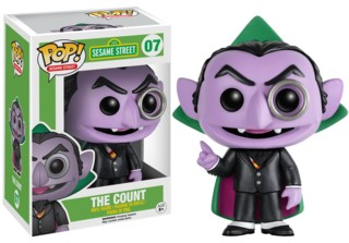 Sesame Street - The Count POP Vinyl Figure