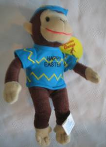 Television Character Collectibles - Curious George Easter Plush