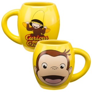 Television Character Collectibles - Curious George Ceramic Mug