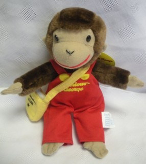 Television Character Collectibles - Curious George Morning Star Plush