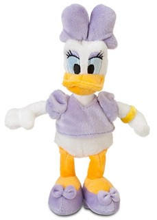 Disney Movie Collectibles - Daisy Duck Plush Bean Bag Character