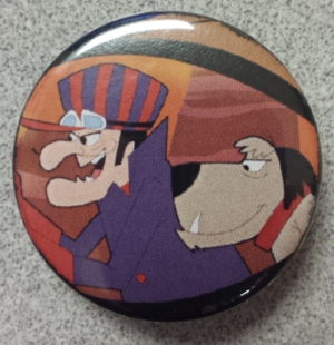 Hanna Barbera Collectibles - Dick Dastardly and Muttley Pinback Button
