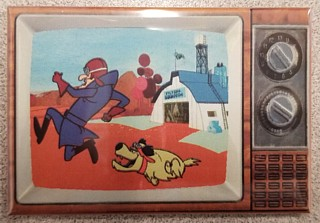 Television Character Collectibles - Hanna Barbera's Dick Dastardly and Muttley TV Magnet