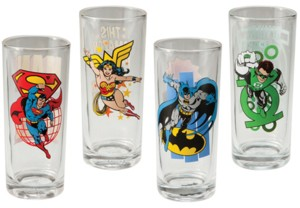 DC Comics Justice League Collectible Character Glasses