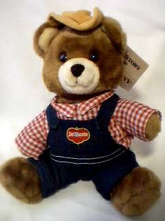 Food Collectibles - DelMonte Brawny Bear Plush