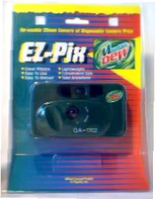 Mountain Dew Collectibles - Mountain Dew Camera