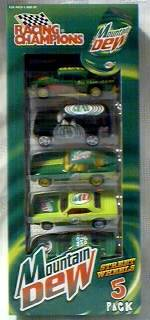 Mountain Dew Collectibles - Mountain Dew Die Cast Cars