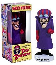 Hanna Barbera Collectibles - Dick Dastardly Bobblehead Nodder Bobber Doll