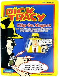 Movie and Comic Strip Character Collectibles - Dick Tracy Magnet