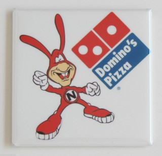 Fast Food Collectibles - Dominos Pizza Noid Fridge Magnet