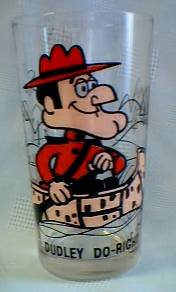 Dudley Do Right Collectibles - Dudley Do-Right Pepsi Glass