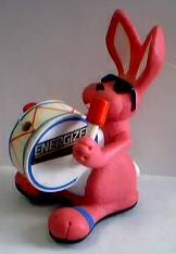 Energizer Bunny Advertising Light Up Figure