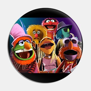 Muppets Collectibles - Dr. Teeth and the Electric Mayhem Pinback Button