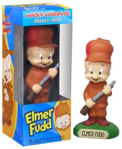 Looney Tunes Collectibles - Elmer Fudd Bobble head Doll Nodder