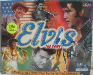Rock and Roll Colelctibles - Elvis Presley The Game Borad Game