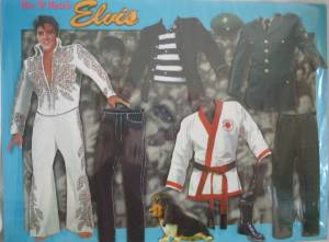 Rock and Roll Colelctibles - Elvis Presley Magnetic Playset
