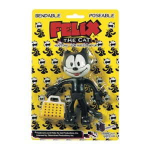 Cartoon Collectibles - Felix the Cat Bendy Figure