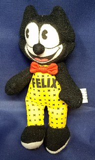 Cartoon Collectibles - Felix the Cat Small Cloth Plush Doll