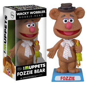 Muppets Collectibles - Fozzie Bear Bobblehead Doll