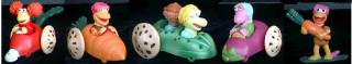 Jim Henson Collectibles - Fraggle Rock Car Figures