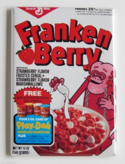 General Mills Cereal Collectibles - Monster Cereal Frankenberry Magnet