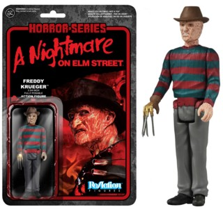 Horror Movie Collectibles - Freddy Krueger Nightmare on Elm Street ReAction Figure