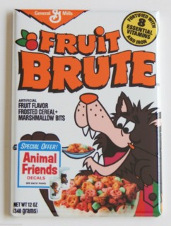 General Mills Cereal Collectibles - Monster Cereal Fruit Brute Magnet