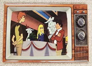 Television Character Collectibles - Hanna Barbera's Funky Phantom TV Magnet