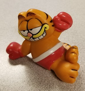 Garfield Collectibles - Garfield Boxer Boxing PVC Figure