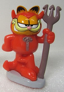 Garfield Collectibles - Garfield Devil Valentines PVC Figure