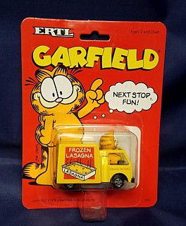 Garfield Collectibles - Garfield ERTL Car - Lasagna Truck