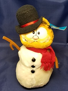 Garfield Collectibles - Garfield Winter Christmas Plush Snowman