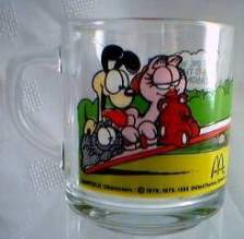 Garfield Collectibles - Garfield McDonald's Mug
