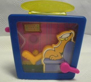 Garfield Collectibles - Garfield Garf-O-Vision Toy Ball Game