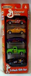 General Mills Cereal Collectibles - Matchbox Car Set